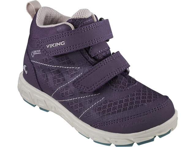 Viking Footwear Veme Mid GTX Shoes Kids purple/bluegreen